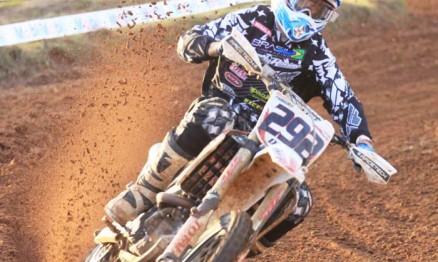 Douglas 'Duda' Parise segundo colocado na categoria MX Gold