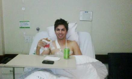 Nando Silva passou por uma cirurgia nesta segunda-feira