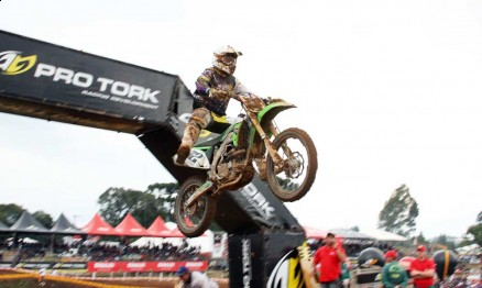 Marcos Cordeiro venceu a categoria MX3 em Carlos Barbosa