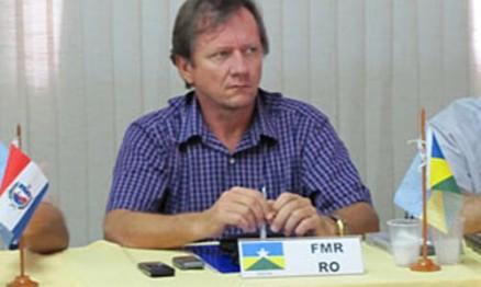 Reinaldo Selhorst é presidente da Federação Rondoniense