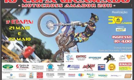 Cartaz de divulgação da Copa Gramado de MX em Gramado