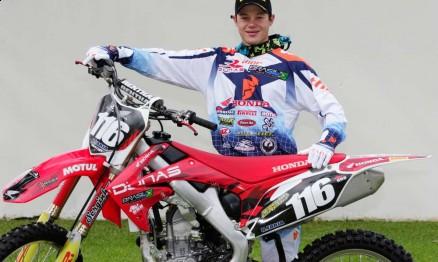 Rafael Faria é piloto da equipe satélite Dunas / Honda