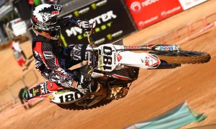 Gabriel Gentil finalizou em vigésimo sétimo na classificatória da MX1