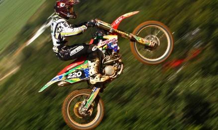 Anderson Amaral finalizou em vigésimo na classificatória da MX2