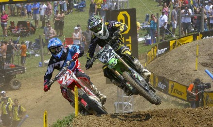 Chad Reed e Jake Weimer