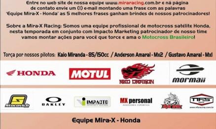 Resultado do Concurso Cultura da Mira-X / Honda