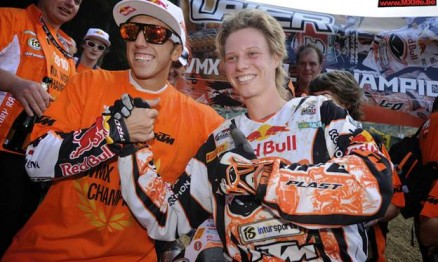 Antonio Cairoli e Steffi Laier são pilotos oficiais da KTM