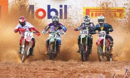 Pilotos Honda dominaram Superliga de MX em Penha
