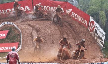 Lama foi o pior adversário dos pilotos em Penha