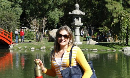 Jana Brun Nalin é a responsável pelo marketing da Pneus Rinaldi