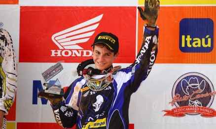 Thiago é um dos jovens talentos do Motocross brasileiro