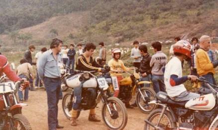 Meu pai e eu no Catarinense de Veloterra em Brusque
