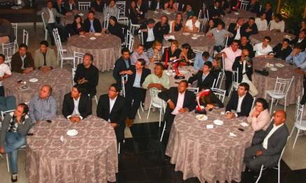 Festa teve presenças de pilotos e membros de equipes