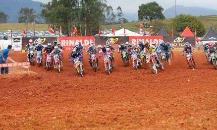 Resultados do Brasileiro de Motocross em Canelinha