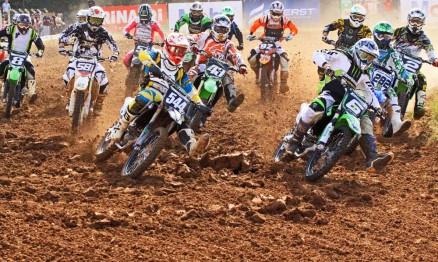 Largada Gaúcho de Motocross MX2 em Venâncio