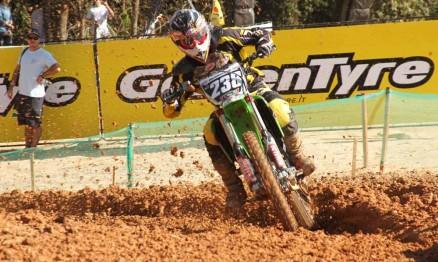 Dudu em ação na MX2 no GP Brasil de Motocross 2011