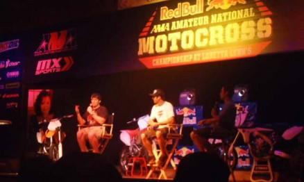 Ricky Carmichael e Jeff Emig falaram na abertura oficial do evento