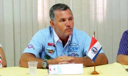 Renan Loubak é presidente da Federação do Espírito Santo