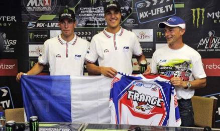 Gautier Paulin, Steven Frossard e Oliver Robert