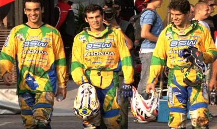 Balbi, Wellington e Swian formaram o time brasileiro em 2009