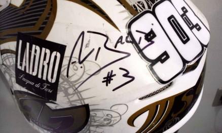 Jorge Balbi Jr. deu capacete que usou no Mundial de Motocross