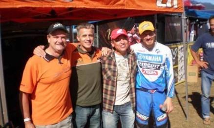 Scateninha, Cássio Garcia, Moronguinho e Jorge Negretti