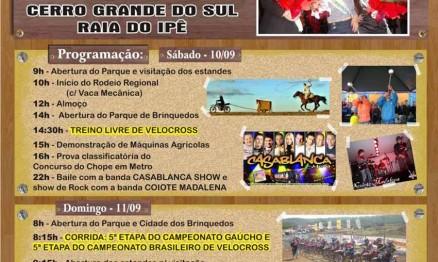Cerro Grande do Sul receberá o Gaúcho de Velocross