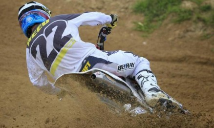 Chad Reed está na briga pelo título do AMA Motocross 450