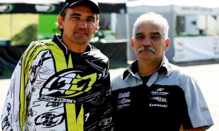 Chumbinho e Jorge Balbi formam a comissão técnica do Team Brasil