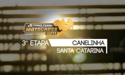 Vídeo do Brasileiro de Motocross em Canelinha
