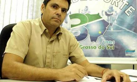 Firmo Alves é presidente da Federação do Mato Grosso do Sul