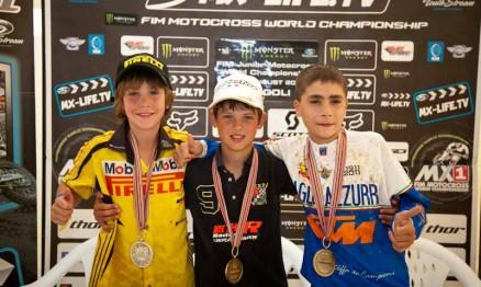 Enzo Lopes, Jorge Prado Garcia e Riccardo Lauretti