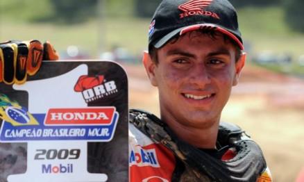 Em 2009 Rodrigo foi campeão Brasileiro de Motocross na categoria Júnior