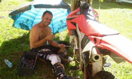 Gustavo Vizotto corre na categoria MX3 do Gaúcho de Motocross