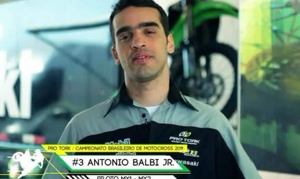 Jorge Balbi Jr. é o líder do Brasileiro de Motocross na MX1