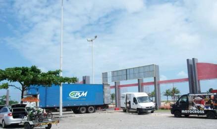 Material da CBM está chegando a Aracaju - Foto Carira Cross