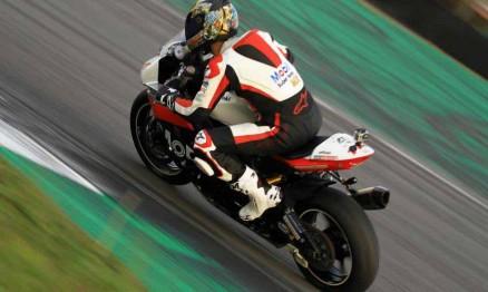 Jorge Balbi Jr. num dia de piloto de Motovelocidade