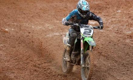 Milton 'Chumbinho' Becker venceu a categoria MX4 em Anchieta