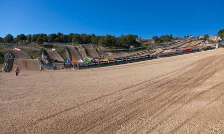Visual da pista do Mundial de Motocross Júnior na Itália