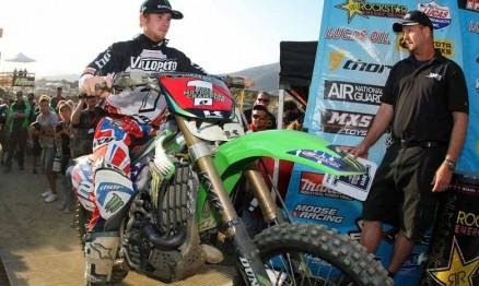Villopoto não venceu em Pala mas levou o título de 2011