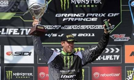 Frossard tem presença garantida na última etapa do Mundial de MX