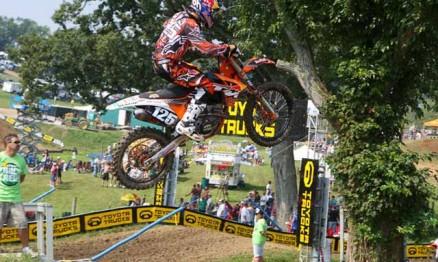 Musquin subiu pela primeira vez no pódio do AMA Motocross 250