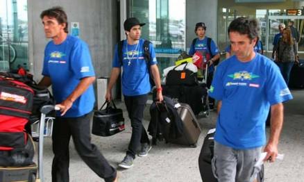 Membros do Team Brasil 2011 chegaram neste domingo na França