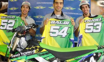 Seleção brasileira está focada no Motocross das Nações