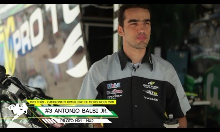Estréia nos canais ESPN mais um programa do Brasileiro de Motocross