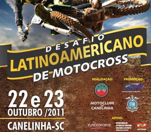 Canelinha/SC recebe Desafio Latino-Americano de Motocross