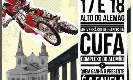 Final do Campeonato Carioca de Supercross no Alto do Alemão