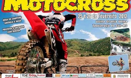Taquaruçu abrirá o Sul-Brasileiro de Motocross 2012