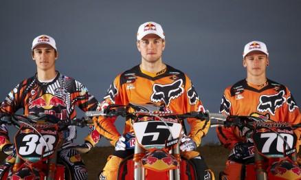 Musquin, Dungey e Roczen são pilotos oficiais da KTM USA