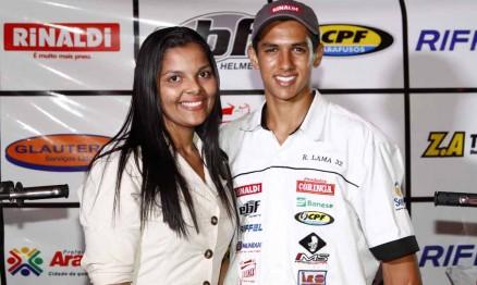 Cristiane Maria dos Santos e Rodrigo Lama